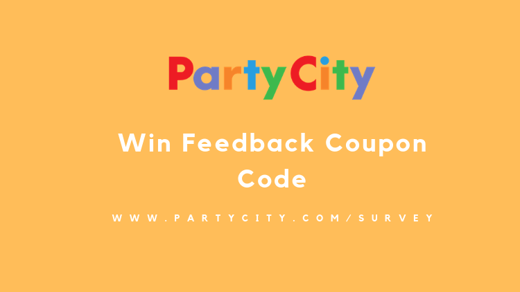 Party City Feedback Survey