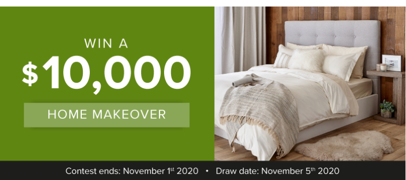 Home Makeover Linen Chest Sweepstakes