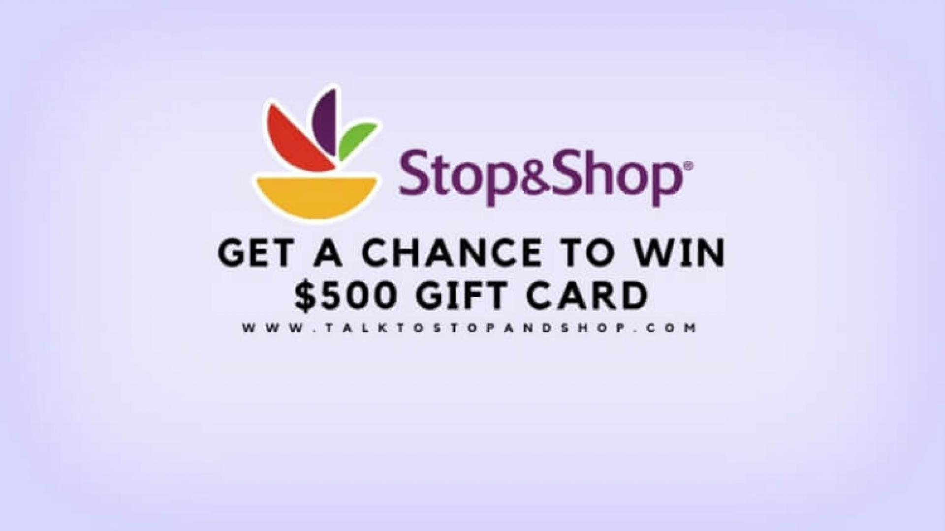 Complete Talktostopandshop Survey and Win $500 Gift Card 😎😎